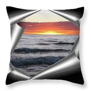 Shutter-view Throw Pillow