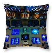 Shuttle Dash Throw Pillow