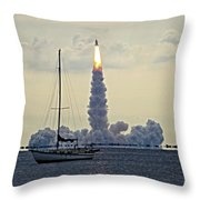 Shuttle Endeavour Throw Pillow