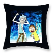 Shwiftyness Level Over 9000 Throw Pillow