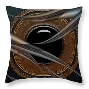 Shy Away Throw Pillow