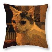 Si O No Throw Pillow