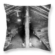 Siberia: Convict Barracks Throw Pillow