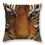 Siberian Tiger I Throw Pillow