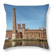 Sibley Mill Throw Pillow