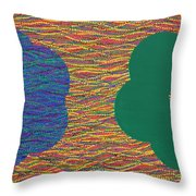 Siblings 2 Throw Pillow