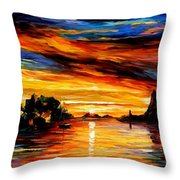 Sicily - Catania Throw Pillow