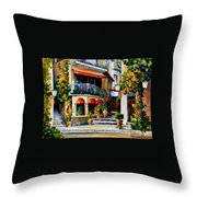 Sicily - Spring Morning Throw Pillow