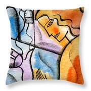 Sickness And Healing Throw Pillow
