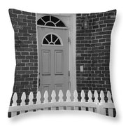 Side Door Throw Pillow