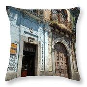 Side Street Homes Antiqua Guatemala 3 Throw Pillow
