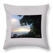 Side Ways Glance Of Nature Throw Pillow