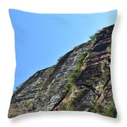 Sideling Hill Rock Throw Pillow