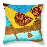 Sider Strong Throw Pillow