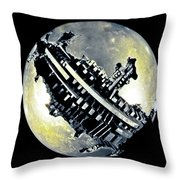 Sidereal Planet Throw Pillow
