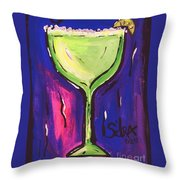 Sidzart Pop Art Series 2002 Margarita Baby Throw Pillow