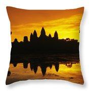 Siem Reap, Angkor Wat Throw Pillow