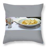 Siena-3-pasta With Four Cheeses Throw Pillow