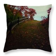 Siena In The Fall Throw Pillow