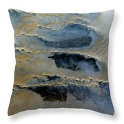 Sienna And Whales From Above Throw Pillow