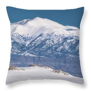 Sierra Blanca Throw Pillow