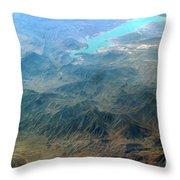 Sierra Madre Throw Pillow