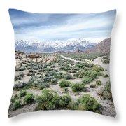 Sierra Nevada Front Throw Pillow
