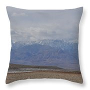 Sierra Nevada View Throw Pillow