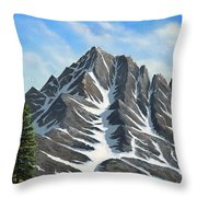 Sierra Peaks Throw Pillow