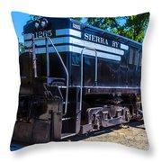 Sierra Ry 1265 Throw Pillow