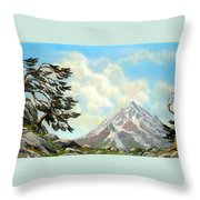 Sierra Warriors Throw Pillow