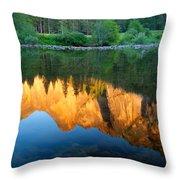 Sierras Reflected Throw Pillow