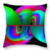 Siesmism Throw Pillow
