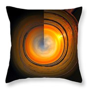 Siesta Key Beach Sunset - Circular 3 Throw Pillow
