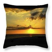 Siesta Sundown Throw Pillow