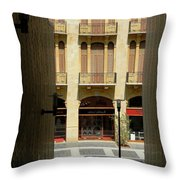 Siesta Time Throw Pillow