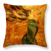 Sigh - Tile Throw Pillow