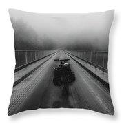 Sights Along The Way Throw Pillow
