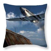 Sightseeing Throw Pillow