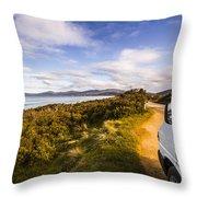 Sightseeing Southern Tasmania Throw Pillow