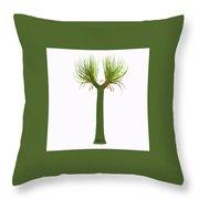 Sigillaria Tree Throw Pillow