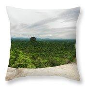 Sigiriya Panorama Throw Pillow