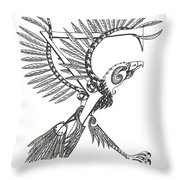 Sigma Eagle Throw Pillow
