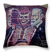 Sigmund Freud 2 Throw Pillow