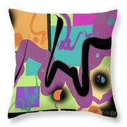 Sign Here Throw Pillow