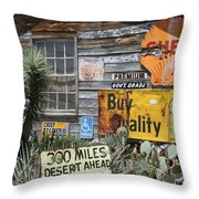 Sign Sign, Everywhere A Sign Throw Pillow