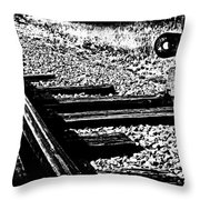 Signal Switch Throw Pillow
