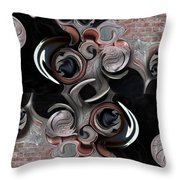 Significance And Abstraction Throw Pillow
