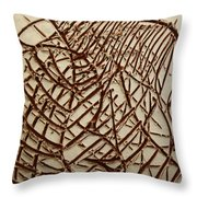 Signs - Tile Throw Pillow