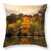 Signs Of Autumn  Throw Pillow